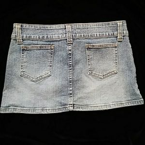 😁Twentyone blue denim miniskirt-sz 9